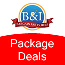 Party Hire Package Deals