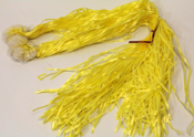 PRE-TIED RIBBON CLIPS - YELLOW