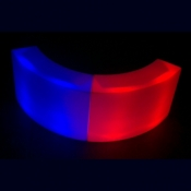 2 x Curved Illuminated Bar