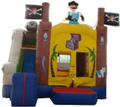 Large Pirate Combo Jumping Castle