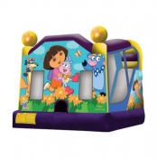 Large Dora Combo Jumping Castle