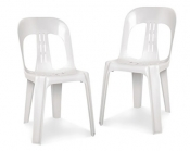Plastic Chairs White