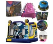 Batman Jumping Castle Party Package Deal