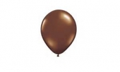 "100 PACK BROWN LATEX 10"" BALLOONS"