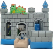 Large Dinosaur Combo Jumping Castle
