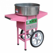 Fairy Floss Machine on Cart