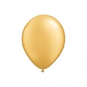 "100 PACK GOLD LATEX 12"" BALLOONS"