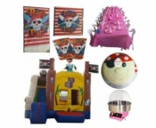 Pirate Jumping Castle Party Package Deal
