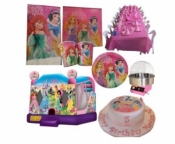Princess Jumping Castle Party Package Deal