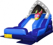 Shark Escape Water Slide, 7m x 3m