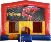 Spiderman Large Jumping Castle