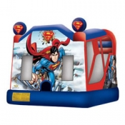 Large Superman Combo Jumping Castle