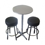 1 x Bar Table and 2 Stools