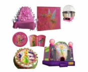 Tinker Bell Jumping Castle Party Package Deal