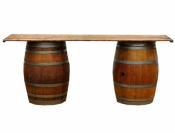 Wine Barrel Set of 2